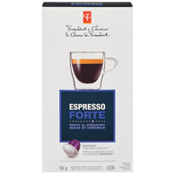 Espresso Forte Rich & Creamy Single Serve Coffee Capsules