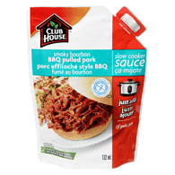Smoky Bourbon BBQ Pulled Pork, Slow Cooker Sauce