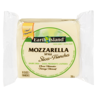 Earth Island Mozzarella Slices
