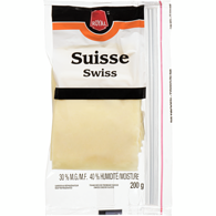 Fromage suisse en tranches, 30 %