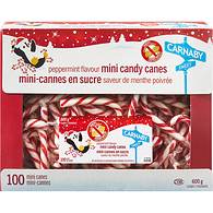 Mini Peppermint Canes