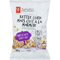 Kettle Corn, Sweet & Salty