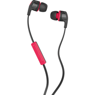 Shop Smokin' Buds Earphones, Black Red