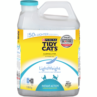 LightWeight Instant Action Clumping Cat Litter for Multiple Cats