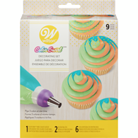 Colour Swirl Decorating Set