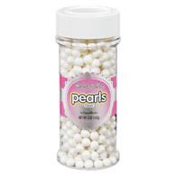 Shimmer White Pearls Jar