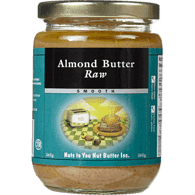 Almond Butter Raw Smooth