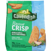 Cavendish Farms Flavourcrisp Herb & Garlic Potato Wedge (750 G)