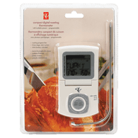 Stainless Steel Wired Meat Thermometer