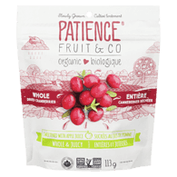 Organic Whole & Juicy Dried Cranberries