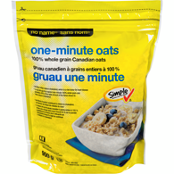 One Minute 100% Whole Grain Oats