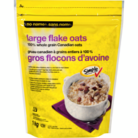 100% Whole Grain Oats, Large Flake