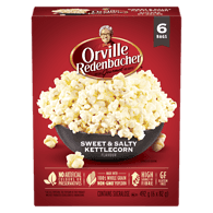 Microwavable Popcorn, Sweet & Salty