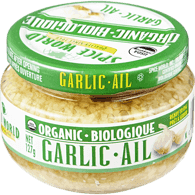 Organic Minced Garlic