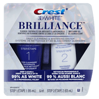 3D White Brilliance HD Daily Cleansing & Whitening System