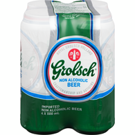 Grolsch Non-Alcoholic Beer (Case)
