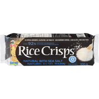 Rice Crisps, Natural