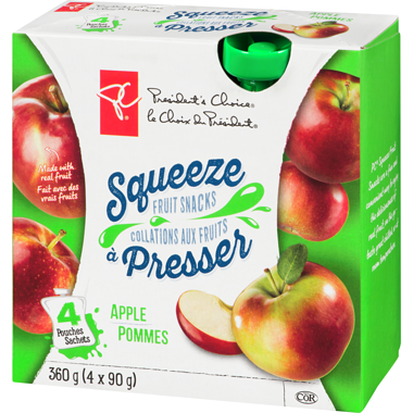 PC Apple Squeeze Fruit Snacks