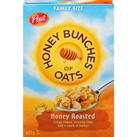 Honey Bunches of Oats, Roasted Honey