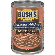 Molasses With Pork, Baked Beans