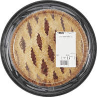 Strawberry Rhubarb Pie Lattice