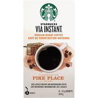 VIA Instant Coffee, Pike Place