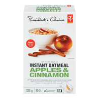 Instant Oatmeal, Apple Cinnamon
