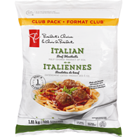 Italian Meatballs Club Pack