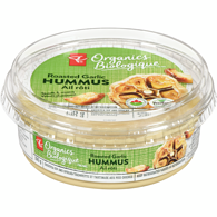 Organics Roasted Garlic Hummus Chickpea Dip & Spread