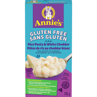 Annie's Rice Pasta Shells & White Cheddar Cheese