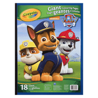 Paw Patrol Giant Colour Pages