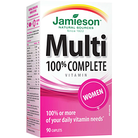 Multi-Vitamins, 100% Complete, Women