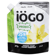 Probiotic Yogurt, Vanilla 2.5%