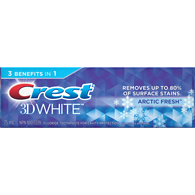 3D White Artic Fresh Icy Cool Mint Gel