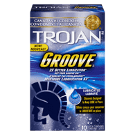 Groove Condom, Lubricated