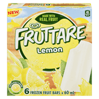 Frozen Fruit Bar, Lemon