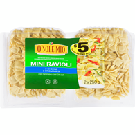 O'Sole Mio Mini Ravioli 3 Fromages