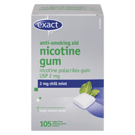 Nicotine Gum, 2mg, Chill Mint