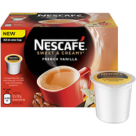 Nescafé Sweet and Creamy French Vanilla Pods