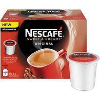 Nescafé Sweet and Creamy Original Pods