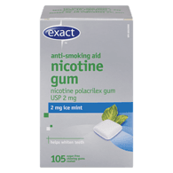 Nicotine Gum, 2mg, Ice Mine