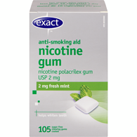 Nicotine Gum, 2mg, Fresh Mint