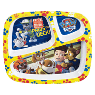 Paw Patrol 3-Section Plate