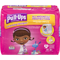 Pull-Ups Learning Designs, Girl 4T-5T