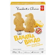 Little Penguins Banana Bread Soft Cookies