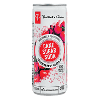 Cherry Cola Naturally Flavoured <Br>Cane Sugar Soda