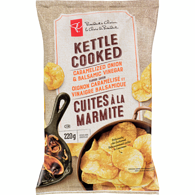 Caramelized Onion & Balsamic Vinegar Flavour Kettle Cooked Potato Chips