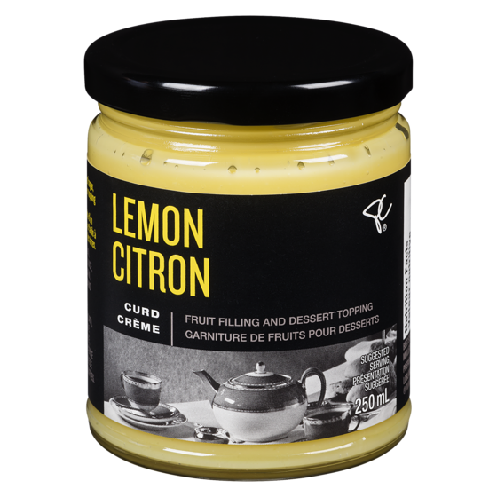 PC Black Label Lemon Curd Fruit Filling And Dessert Topping
