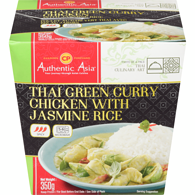Green Curry Chicken With Jasmine Rice