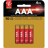 AAA4 Alkaline Batteries